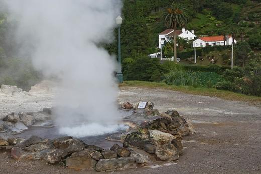 Stock Photo: 1566-601110 Hot Spring / Furnas / Sao Miguel Island / Azores / Portugal