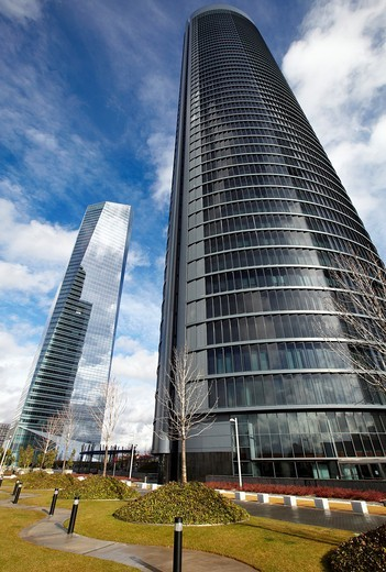 Stock Photo: 1566-603270 CTBA, Cuatro Torres Business Area, Madrid, Spain.
