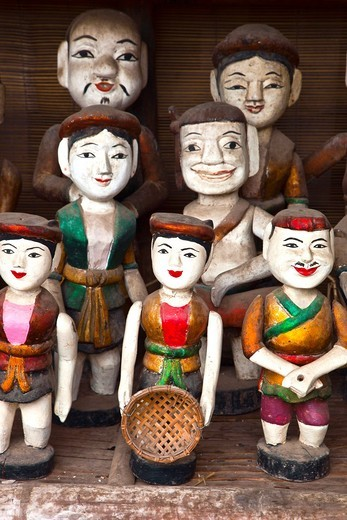Water Puppets  HANOI VIETNAM. : Stock Photo