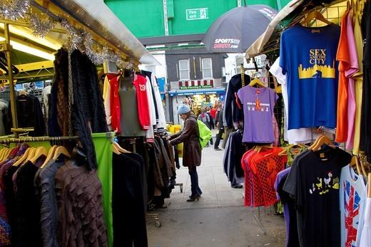 England, Camden town, Camden street market : Stock Photo