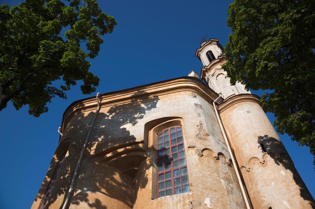 Lithuania, Vilnius, Greek-Catholic Church of the Holy Trinity : Stock Photo