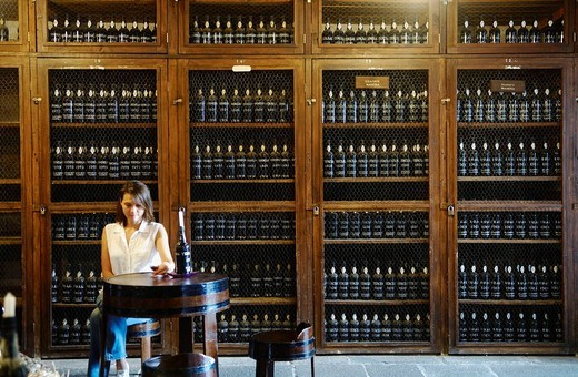 Tasting room, Funchal, Madeira Island, Portugal : Stock Photo