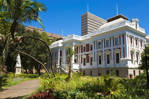 Stock Photo: 1566-611476 Houses of Parliament, Cape Town, South Africa