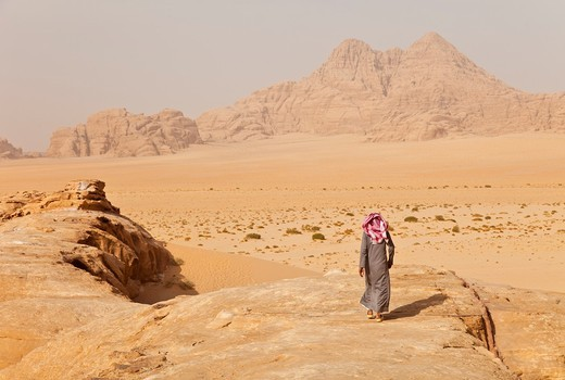 Stock Photo: 1566-612338 Wadi Rum, Jordan, Middle East