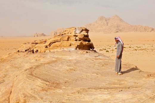 Wadi Rum, Jordan, Middle East : Stock Photo
