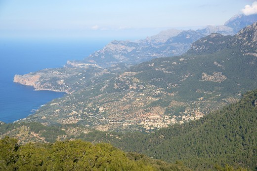 Tramuntana coast, Mallorca Balearic Islands Spain : Stock Photo