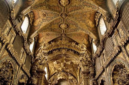 Church of Santa Clara, Porto, Portugal : Stock Photo