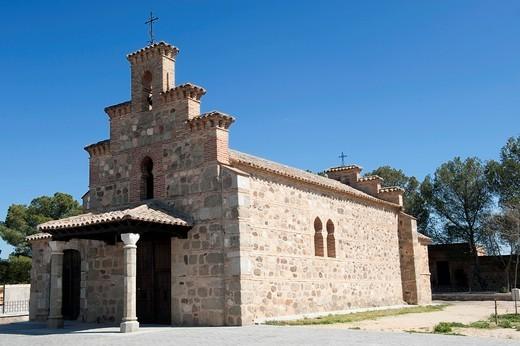 Stock Photo: 1566-616224 Chapel of nuestra señora de la Natividad, Guadamur, toledo, castile la mancha, spain