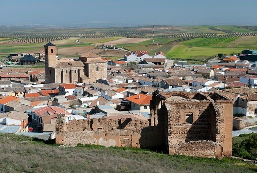 Almonacid of Toledo, , Toledo´s province, Castile la mancha, spain : Stock Photo