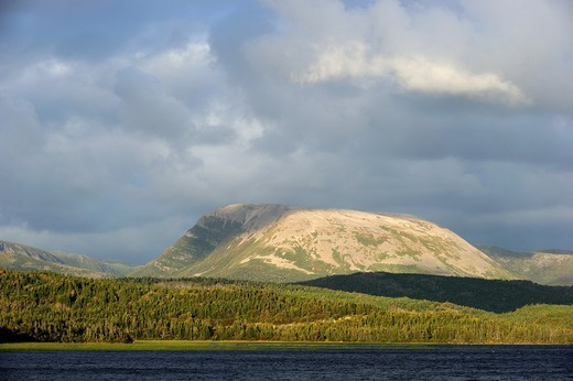 Gros Morne mountain  Gros Morne National Park, Newfoundland, Canada : Stock Photo