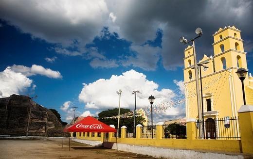 Acanceh, Yucatan, Mexico : Stock Photo