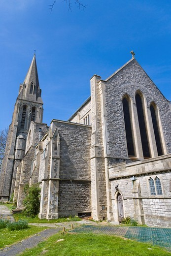 Stock Photo: 1566-626118 St Mary´s Church, Southampton, Hampshire, England, UK.