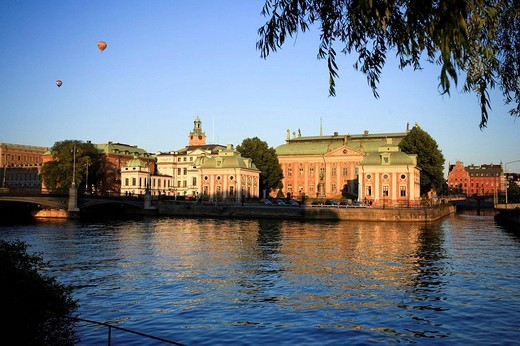 Riddarhuset Swedish House of Lords, Stockholm, Sweden : Stock Photo