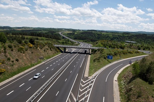 Stock Photo: 1566-628207 Highway, France, Europe