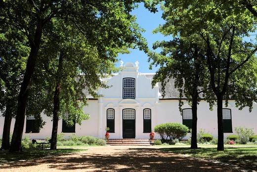 Stock Photo: 1566-628643 Boschendal Wine Farm, Western Cape, South Africa