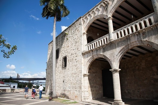 Stock Photo: 1566-629350 america, caribbean sea, hispaniola island, dominican republic, santo domingo town, virreinal palace of diego colon