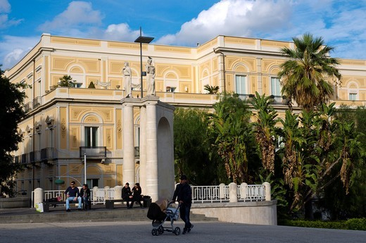 Stock Photo: 1566-629540 Villa Bellini park Catania Sicily Italy Europe
