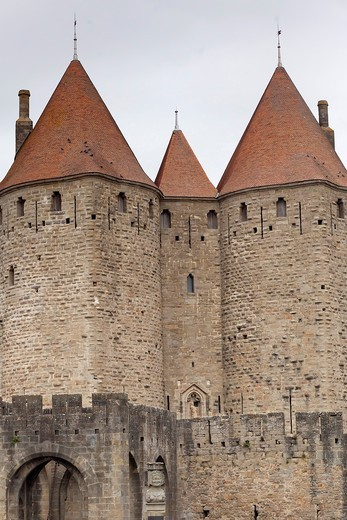 Carcassonne, France : Stock Photo