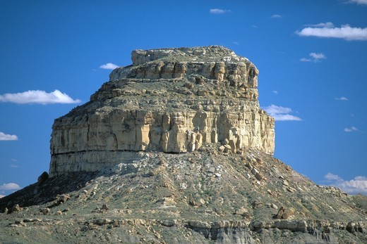 Fajada Butte in Chaco, New Mexico, USA : Stock Photo