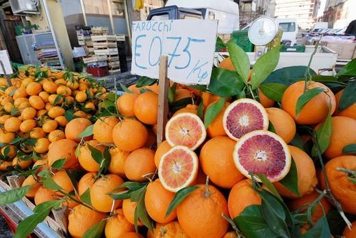 Stock Photo: 1566-631045 Siracusa  Sicily  Italy  Isola di Ortigia  Mercato