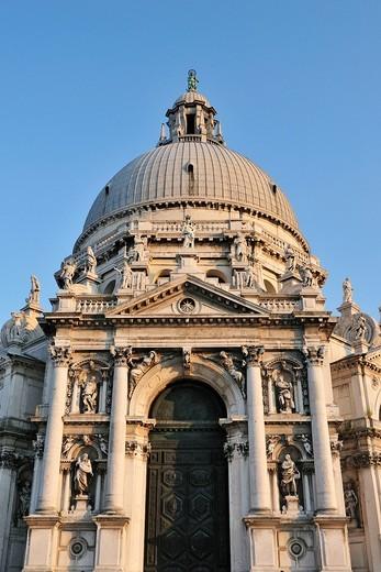 Venice  Italy  Santa Maria della Salute : Stock Photo