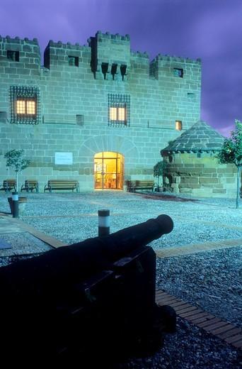 Stock Photo: 1566-631755 Castle of Marqués de los Velez Cuevas de Almanzora, Almeria province, Andalucia, Spain