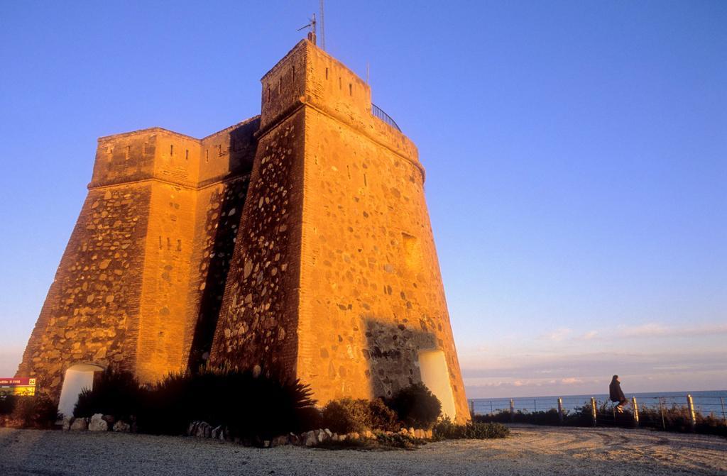 Stock Photo: 1566-631757 Villaricos tower Villaricos Cuevas de Almanzora, Almeria province, Andalucia, Spain