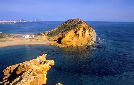Stock Photo: 1566-631791 'De los Cocedores' beach San Juan de los Terreros, Almeria province, Andalucia, Spain