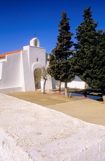 Church Hamlet of La Carrasca Sierra de Cabrera, Almeria province, Andalucia, Spain : Stock Photo