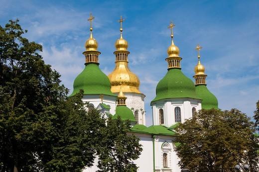 Stock Photo: 1566-635098 Ukraine, Kiev, Saint Sophia Cathedral.