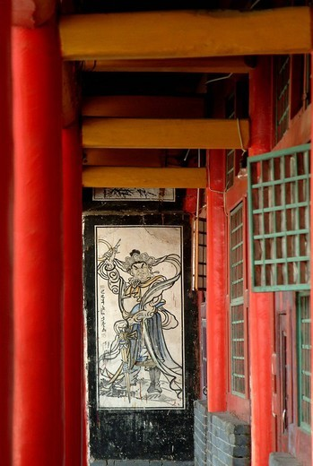 Tayuan temple, Wutai Shan, Shanxi province, China : Stock Photo
