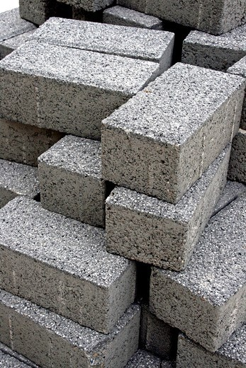 Stock Photo: 1566-635594 cobblestones, building materials.