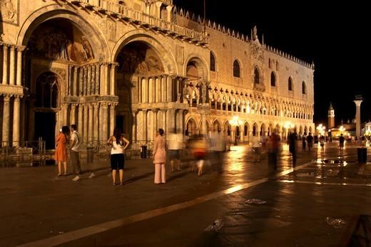 Saint Mark´s Square, Venice, Veneto, Italy, Europe : Stock Photo