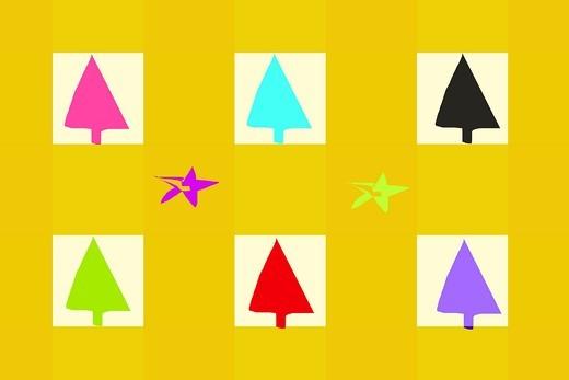 christmas illustration : Stock Photo