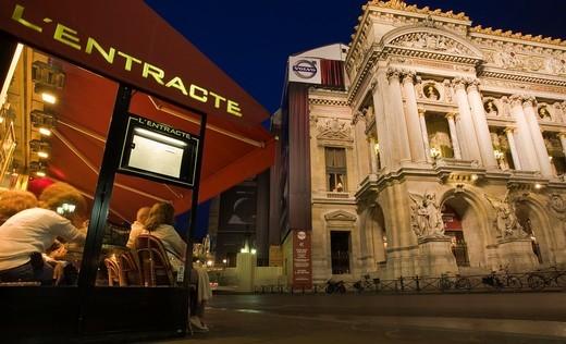 Opera House (1860-75 by Charles Garnier). Paris. France. : Stock Photo