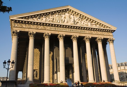 La Madeleine, Paris, France. : Stock Photo