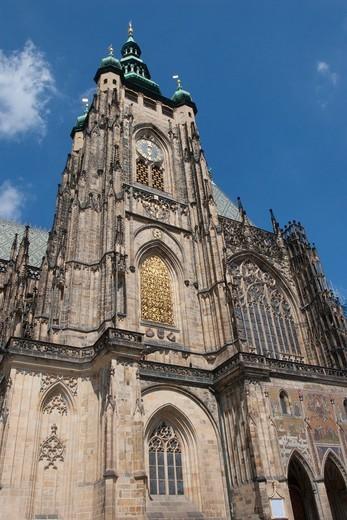 Stock Photo: 1566-640011 St Vitus Cathedral, Prague Castle, Prague, Czech Republic