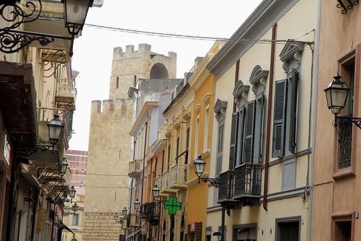 Oristano Sardinia Italy : Stock Photo