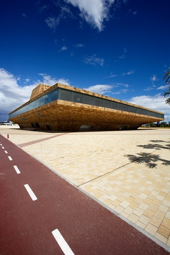 La LLotja  Congress Theatre and Convention Centre  LLeida, Spain : Stock Photo