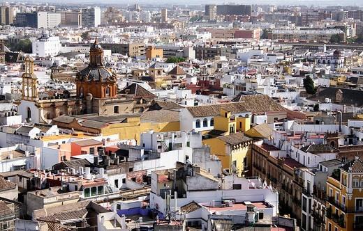 Seville skyline : Stock Photo