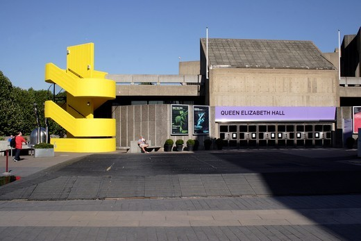 Stock Photo: 1566-642449 Queen Elizabeth Hall at the South Bank Centre London