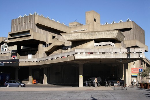 Hayward Gallery at the South Bank Centre London : Stock Photo