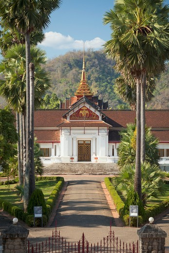 Stock Photo: 1566-642781 Royal Palace / National Museum,Luang Prabang, Laos