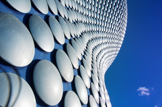Stock Photo: 1566-643934 Selfridges building abstract, Birmingham, England