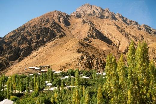 Iran, Alborz Mountains landscape, : Stock Photo