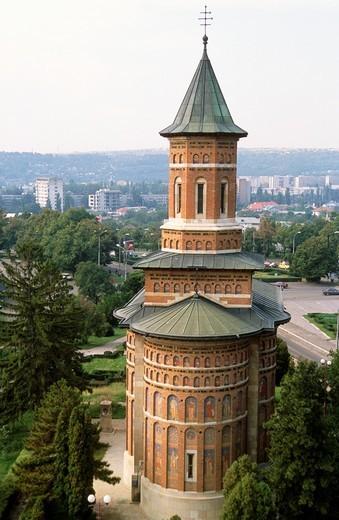 Stock Photo: 1566-645434 Romania, Iasi, Saint Nicolas Royal Church,