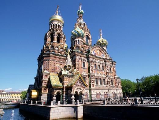 Stock Photo: 1566-645541 Russia, St Petersburg, Resurrection Church,