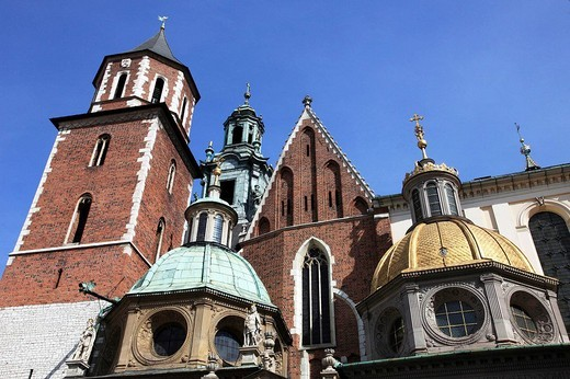 Poland, Krakow, Wawel Cathedral : Stock Photo