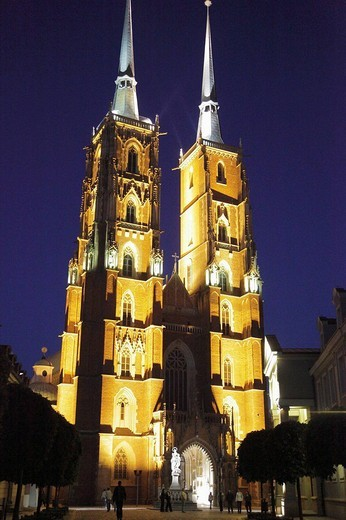 Stock Photo: 1566-646158 Poland, Wroclaw, Cathedral of St John the Baptist