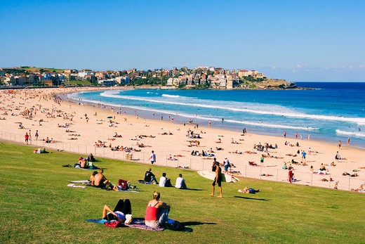 Bondi Beach. Sydney City. New South Wales. Australia. April 2006 : Stock Photo